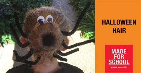 halloween hairstyles games activities made for school