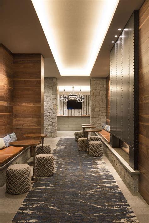 working   hotel lobby lighting interior design project