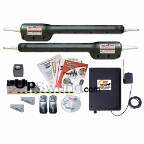 swing arm gate opener gto might mule dual arm swing gate operator fm502 kit