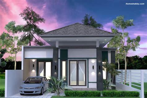 desain  denah rumah modern  atap limasan beserta