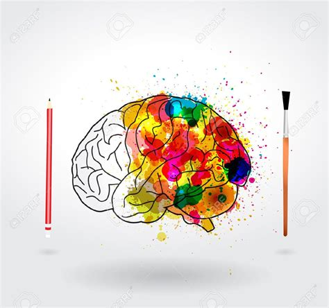 design is mind creative clipart creative mind pencil and in color