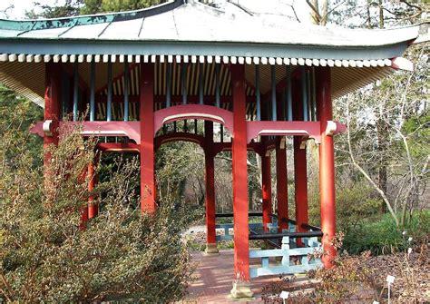 Pavillon Im Garten Bilder by Pavillon Japanische Laube Im Vorfr 252 Hling