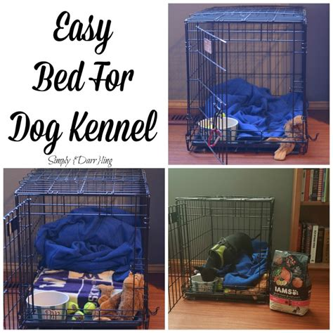 cheap n easy dog bed diy an easy diy dog bed simply darr ling