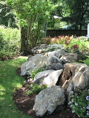 how to clean landscape rocks a faux rock stream adds
