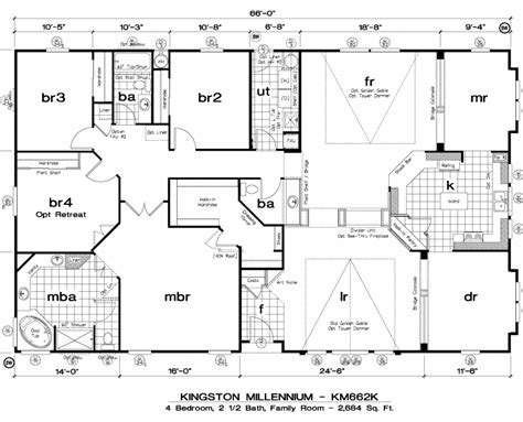 Golden West Homes Floor Plans | golden west kingston millennium floor plans 5starhomes manufactured homes