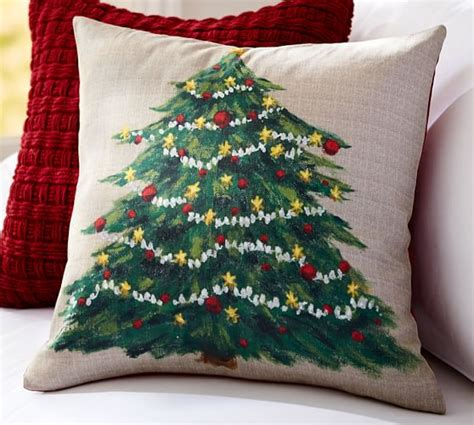 Tree Pillow by Painted Tree Pillow Cover Pottery Barn