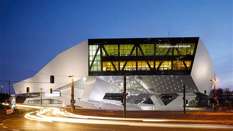 Porsche Museum Stuttgart by The Porsche Museum In Stuttgart