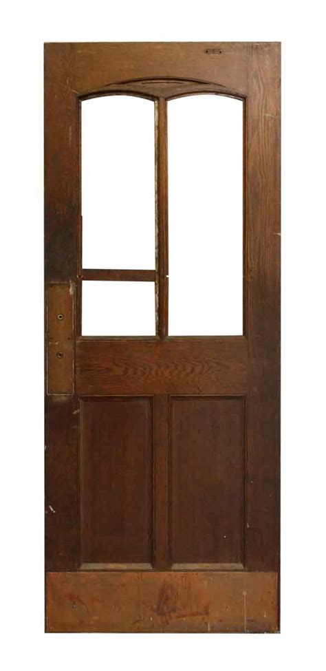 Salvage Interior Doors Half Glass Salvaged Interior Door Olde Things