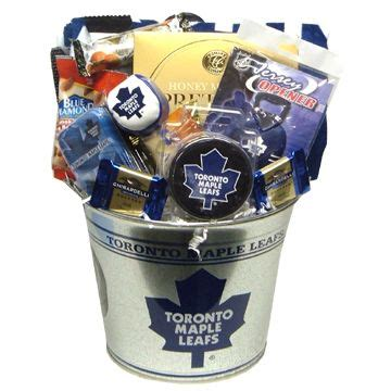 birthday delivery ideas for him toronto toronto maple leafs nhl gift basket free delivery in
