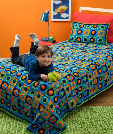 pillow beds for kids kids twin bed afghan pillow red heart