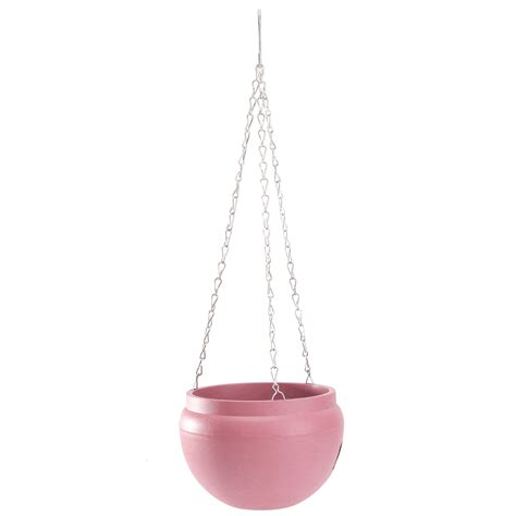 Hanging Planter Chain by Hanging Flower Pot With Chain Planter Plastic Basket Vase