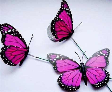 imagenes de mariposas color rosa figuras personalizadas boda y ramos de mariposas para