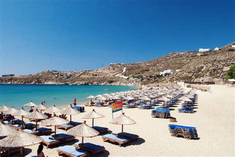 vacanze mykonos le spiagge di mykonos dove andare in vacanza