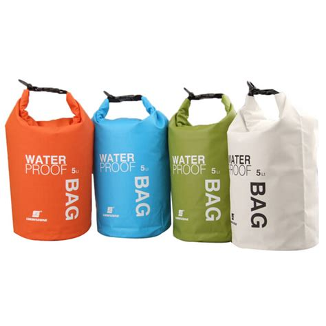 Bag Waterproof Ultralight 5 L aliexpress buy 4colors 5l ultralight portable outdoor travel rafting waterproof bag