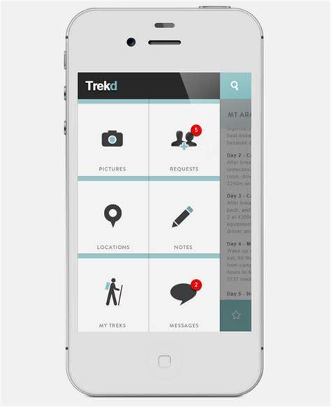 design navigation menu for mobile 21 gorgeous mobile navigation designs sitepoint