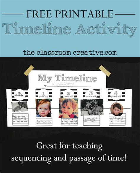 printable montessori timeline of life free printable timeline template and activity inspired by