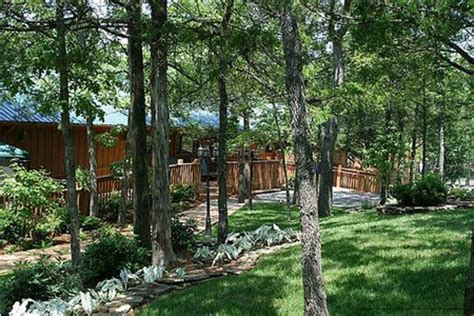 Green Mountain Cabins Branson Mo by Landscaped Area View At Cabins At Green Mountain In