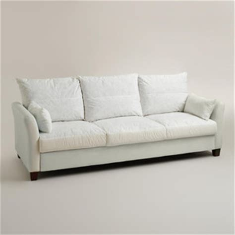 cost plus world market luxe 3 seat sofa frame polyvore