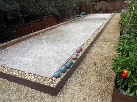bocce ball backyard games landscaping network