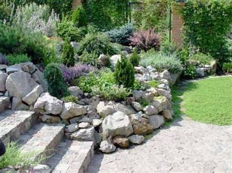 best 25 rock wall gardens ideas on rock wall
