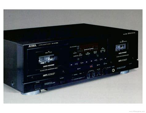aiwa cassette deck aiwa ad wx888 manual cassette deck hifi engine