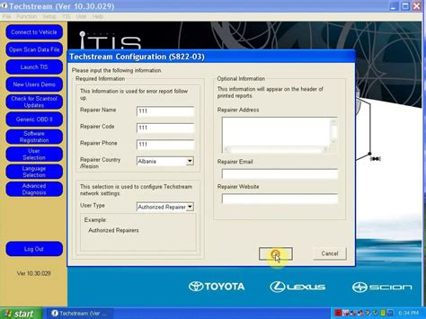 Toyota Techstream How To Install Toyota Tis 10 30 029 Software