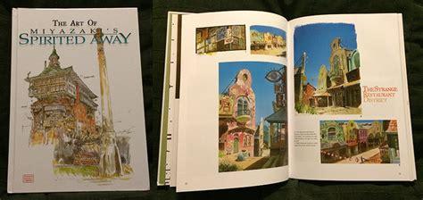 Ghibli Of Spirited Away Us Artbook artbook catalog reviews part5 by stman on deviantart