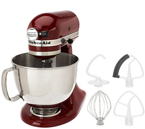 Kitchenaid Qvc Kitchenaid 5 Qt 325 Watt Tilt Stand Mixer W Flex