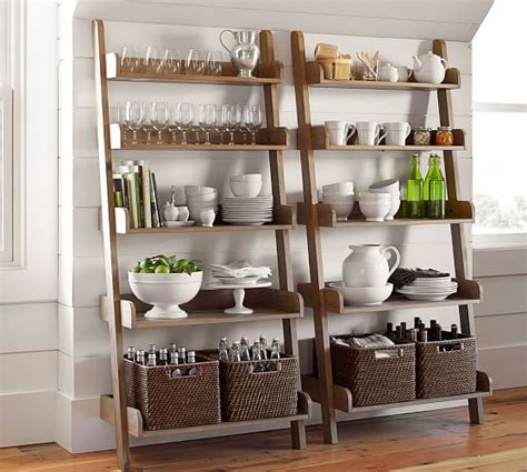 pottery barn shelves studio wall shelf pottery barn
