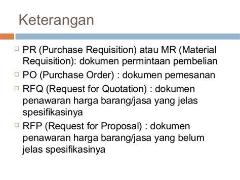 Aspek Aspek Membuat Dokumen Pengadaan Dan Evaluasi Penawaran scm 08 manajemen pengadaan