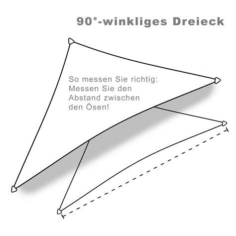 sonnensegel wasserdicht dreieck sonnensegel wasserdicht 3x3x4 2m dreieck mit rechtem