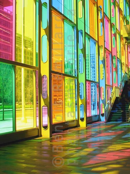 colored glass panels palais des congres montreal with 332 colored glass