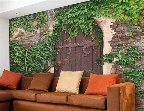 Garden Wall Murals Pictures To Pin On Pinterest Pinsdaddy Garden Wall Mural