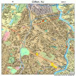 clifton map clifton new jersey map 3413690