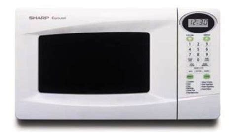 Klep Sharp Od 22 Kw sharp r 220kw microwave oven capacity cu ft 0 8 white
