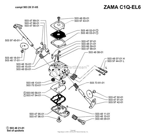 zama c1q carb diagram husqvarna 51 1998 06 parts diagram for carburetor parts
