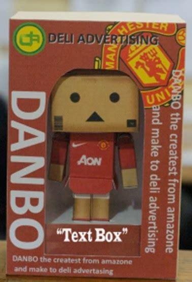 Danbo Manchester United koleksi boneka danbo toko baki doll
