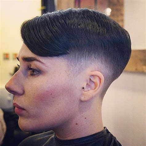 Instagram photo by @thebarberpost (The Barber Post)   Iconosquare   Short women's haircuts