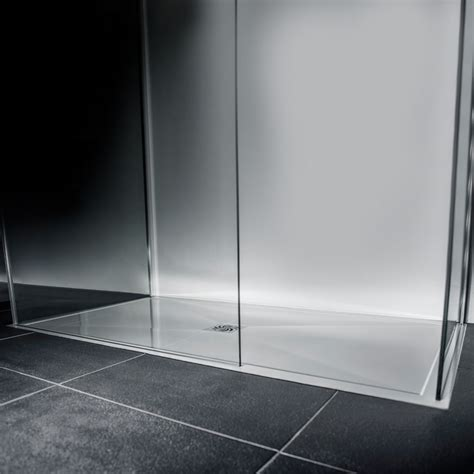 A 700 Shower by The Ultimate Modern Low Profile Polished Resin