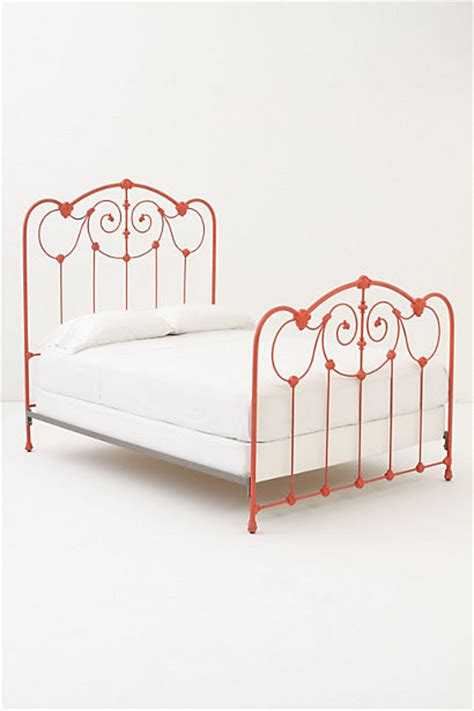 anthropologie bed frame lydia bed contemporary beds by anthropologie