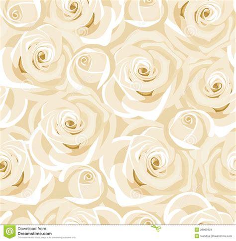 witte achtergrond met 3d pingun met zonnebril en een ijsje naadloze achtergrond met witte rozen en knoppen stock