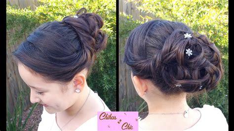 Peinados Recogidos Para Graduacion | peinado recogido con crespos curly updo peinados