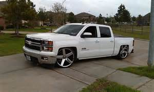 dropped chevy trucks