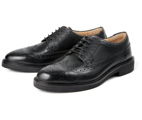 Brogue Shoes arbor black brogue shoe by hudson shoes thread