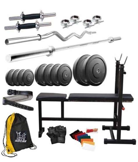 total 100 kg home 2 dumbbell rods 2 rods 1 curl