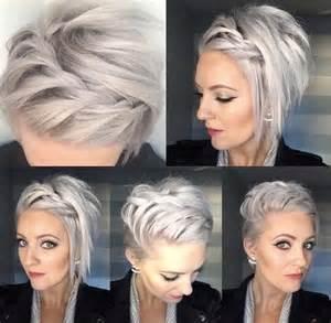 25 best ideas about chignon cheveux court on