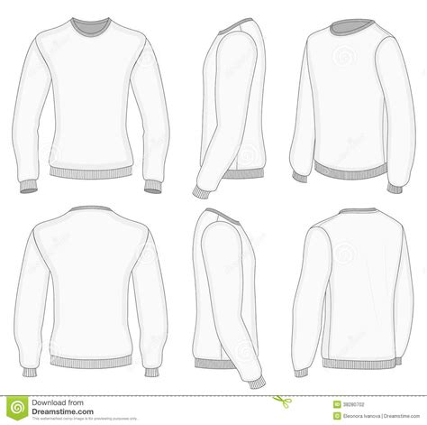 sleeve t shirt template vector free 17 sleeve shirt design template vector images