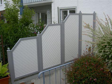 sichtschutz terrasse kunststoff sichtschutz wenn ihr nachbar zu neugierig wird