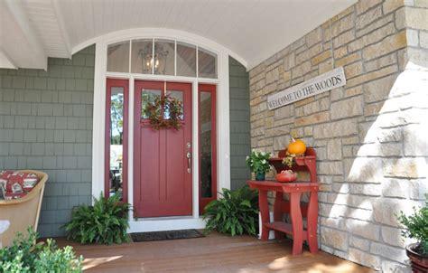 home decor front door make a splash with a red front door