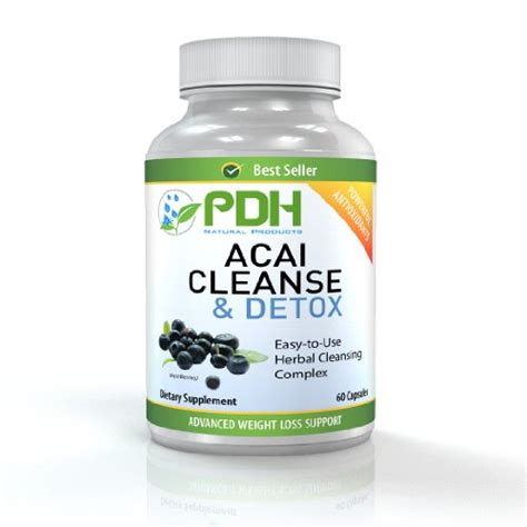 Acai Detox by Colon Cleanse Detox Added Acai For Weight Loss